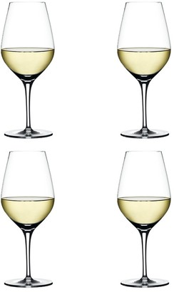Spiegelau Authentis 4 Piece Crystal White Wine Glass Set 480ml
