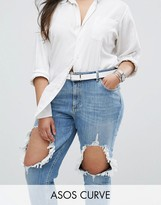 Asos Reversible Waist And Hip Boyfriend Belt