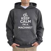 Eddany Keep calm I'm a Machinist Hoodie