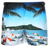 Orlebar Brown Setter photographic-print swim shorts