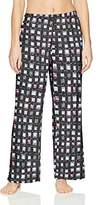 Hue Women's Printed Knit Long Pajama Sleep Pant