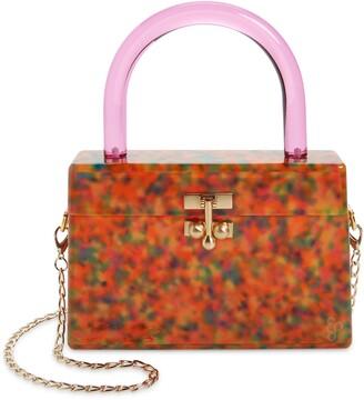 Edie Parker Miss Mini Acrylic Box Bag