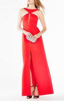 BCBGMAXAZRIA Angie Halter-Neck Gown