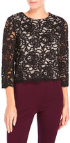 Kate Spade Floral Lace Top