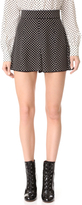 Marc Jacobs Polka Dot Tap Shorts