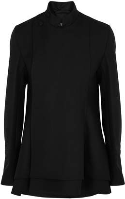 Jil Sander Lowell Black Wool Twill Jacket