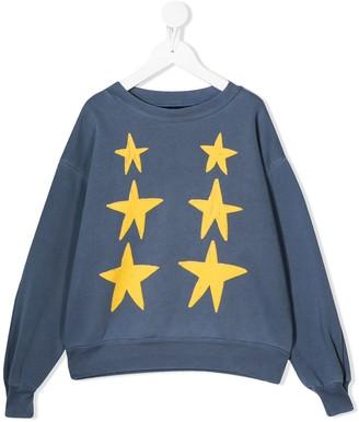 The Animals Observatory Star-Print Sweatshirt