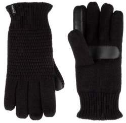 Isotoner Women's Textured Knit Touchscreen Gloves