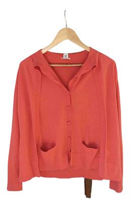 Hermes Orange Cotton Knitwear