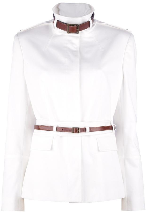 Burberry belted jacket