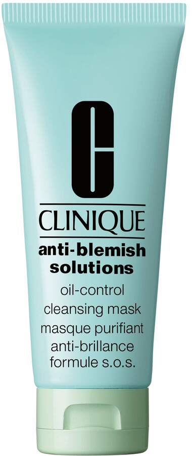 Clinique Anti-Blemish Solutions Oil Control Cleansing Mask - All Skin Types With Blemishes, 100ml