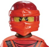 Disguise Lego Ninjago Costume Kai Mask - Red