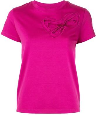 Paule Ka ribbon print T-shirt