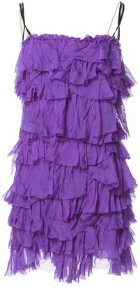Dolce & Gabbana \N Purple Silk Dresses