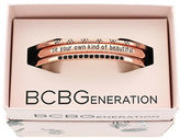 BCBGeneration Be Your Own Kind of Beautiful Brass Cuff Bracelet