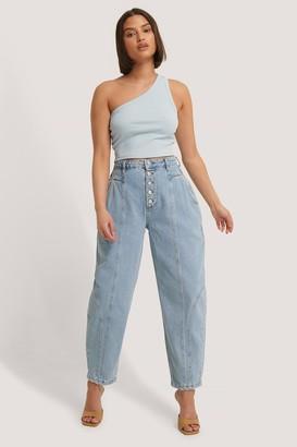 Trendyol Buttoned High Waist Balloon Jeans