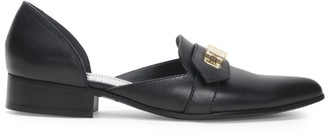 Givenchy Eden Leather d'Orsay Loafers