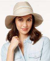 BCBGeneration Mix Stitch Panama Hat