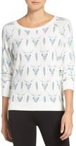 PJ Salvage Skulls & Feathers Sweatshirt