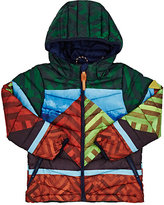 Scotch Shrunk Geometric-Pattern Quilted Tech Jacket