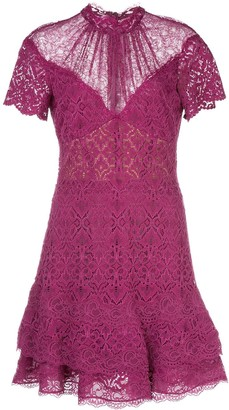 Jonathan Simkhai Short Lace Dress