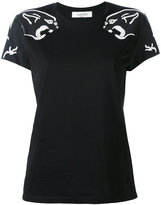 Valentino panther print T-shirt - women - Cotton/Polyester - S