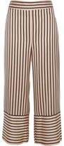 River Island Womens Pink stripe wide leg culottes