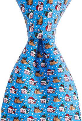Vineyard Vines Santa's Helper Printed Tie