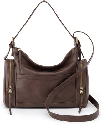 Hobo Founder Leather Convertible Shoulder Bag