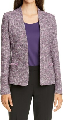 HUGO BOSS Jalesta Cotton Tweed Jacket