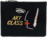 Lizzie Fortunato 'Art class' clutch