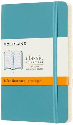 Moleskine Pocket Sized Soft Cover Ruled Notebook