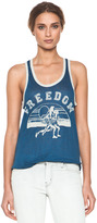 Etoile Isabel Marant Rosa Freedom Linen Tank in Bleu