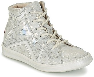 GBB PRUNELLA girls's Shoes (High-top Trainers) in Grey