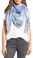 Treasure & Bond Women's Geo Print Square Scarf