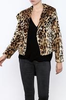 Chaser Furry Cheetah Coat