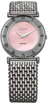 Jowissa Women's Roma MoL Pink Mother-of-Pearl Roman Numerals Stainless-Steel Watch