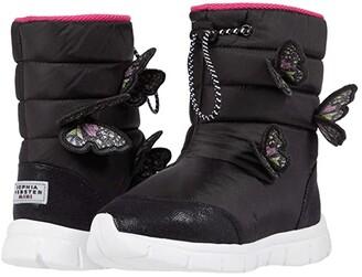 Sophia Webster Riva Snowboot (Toddler/Little Kid/Big Kid) (Black/Multi) Women's Shoes