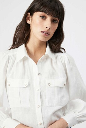 Witchery Linen Pocket Shirt