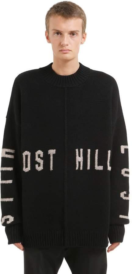 Yeezy Lost Hills Intarsia Wool Sweater