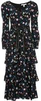 Olivia Rubin floral shift maxi dress