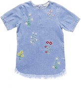 STELLA MCCARTNEY KIDS - Youth Girl's Floral Embroidered Bess Dress