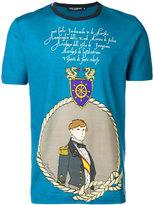Dolce & Gabbana military print T-shirt - men - Cotton - 44