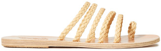 Ancient Greek Sandals Niki Braided Leather Sandals