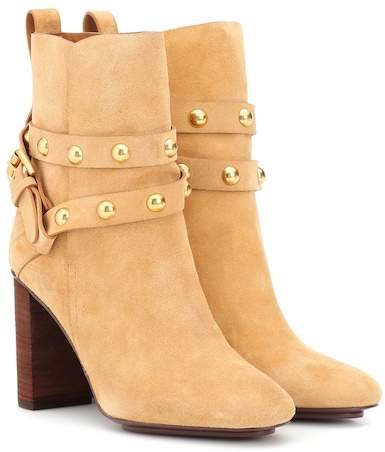 See by Chloe Janis suede ankle boots