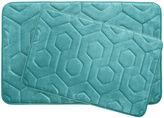 Asstd National Brand Bounce Comfort Hexagon 2-pc. Memory Foam Bath Mat Set