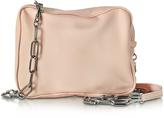 MM6 Maison Martin Margiela Powder Pink Leather Shoulder Bag