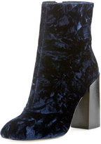 Rebecca Minkoff Bojana Velvet 100mm Ankle Boot, Midnight