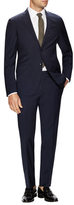 Etro Wool Checkered Notch Lapel Suit
