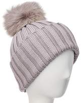 Adrienne Landau Wool Hat With Interchangeable Poms.